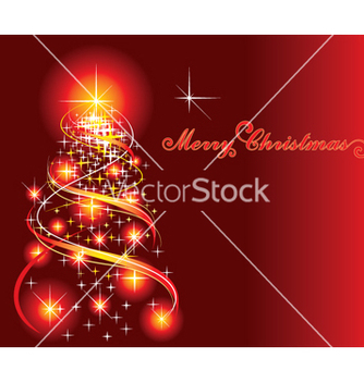 Free christmas tree vector - Free vector #268185