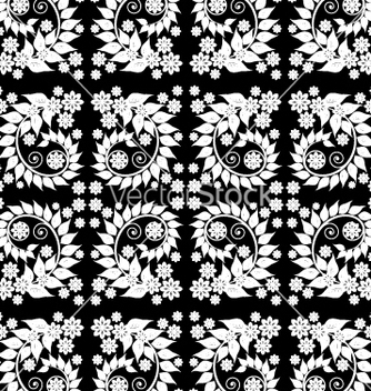 Free seamless wallpaper vector - vector #268405 gratis