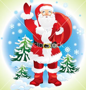 Free santa claus vector - vector gratuit #268425