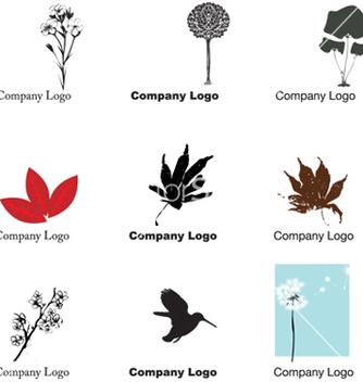 Free nature logos vector - Kostenloses vector #268485