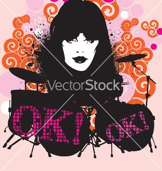 Free rock n rolling vector - Free vector #268605