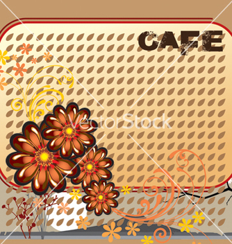 Free cafe design vector - vector gratuit #268685