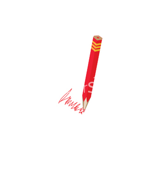 Free red pencils vector - vector #268835 gratis