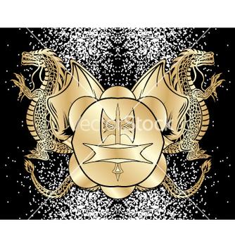 Free heraldic blazon vector - Free vector #268855