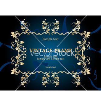Free vintage frame vector - Kostenloses vector #268895