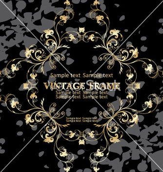 Free vintage frame vector - Free vector #268985
