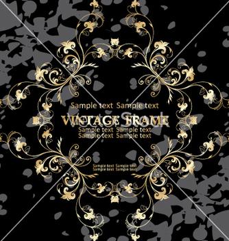 Free vintage frame vector - vector gratuit #268985