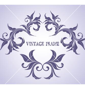 Free vintage frame vector - Free vector #268995