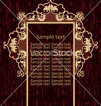 Free vintage frame vector - vector gratuit #269045