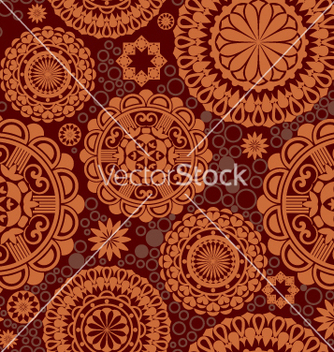 Free seamless pattern vector - Kostenloses vector #269135