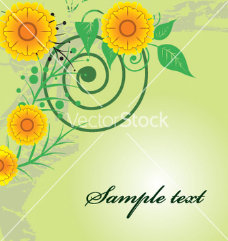 Free floral vector - Free vector #269335