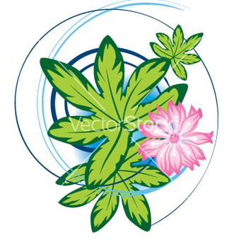 Free floral design vector - бесплатный vector #269455