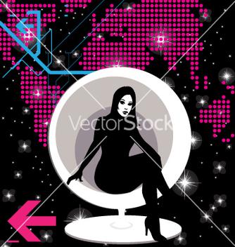 Free modern girl vector - Kostenloses vector #269485