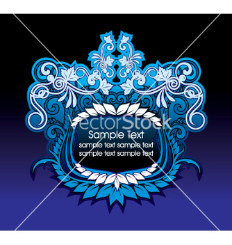 Free artistic shield vector - Free vector #269815