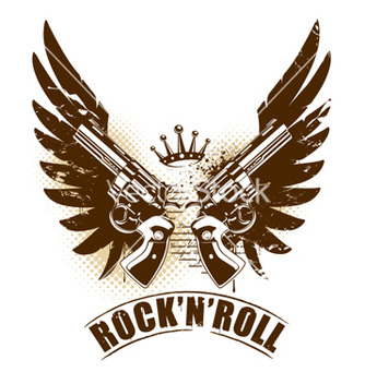 Free rock n roll vector - Free vector #269925