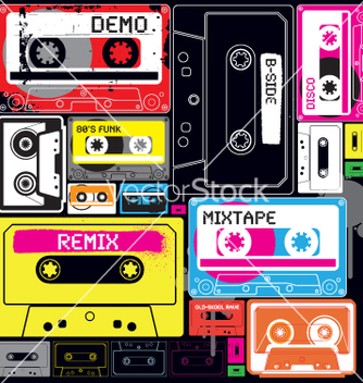 Free wall of sound vector - Free vector #270155