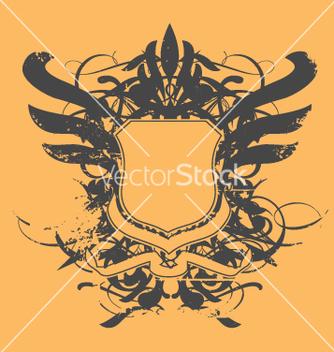 Free heraldic shield vector - Free vector #270335