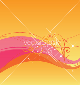 Free sunset background vector - Free vector #270355