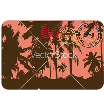 Free vintage postcard vector - Kostenloses vector #270445