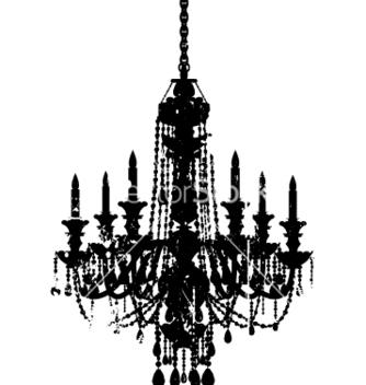 Free vintage chandelier vector - vector gratuit #270555