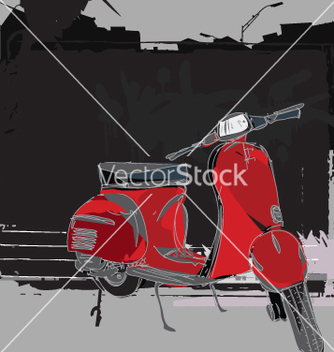 Free scooter vector - Free vector #270635
