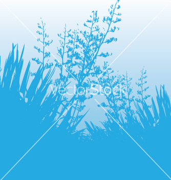 Free blue flax vector - Free vector #270645
