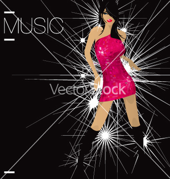 Free dancerfloor diva vector - vector gratuit #270705