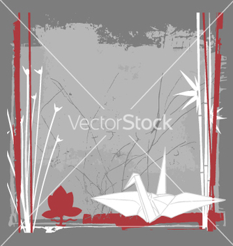 Free still life with crane vector - Free vector #270835