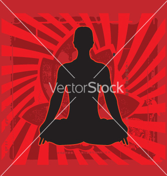 Free yoga zen vector - Free vector #270925