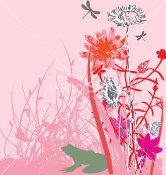 Free wild flowers vector - Kostenloses vector #270965