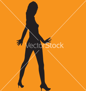 Free sexy silhouette vector - Free vector #271095