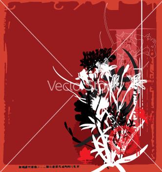 Free oriental flower vector - Kostenloses vector #271135