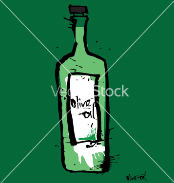 Free olive oil vector - Kostenloses vector #271145