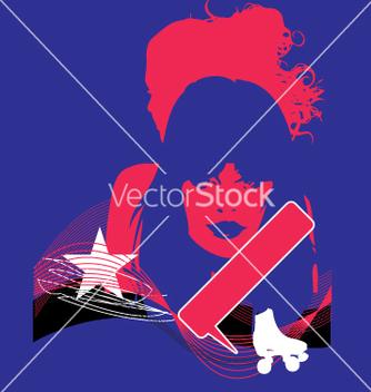 Free model pop grunge vector - Kostenloses vector #271175