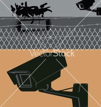 Free cctv camera vector - Free vector #271505