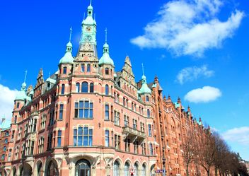 Building of Speicherstadt, Hamburg, Germany - image #271655 gratis