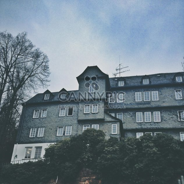 Building against the autumn sky, Marburg, Germany - Free image #271665