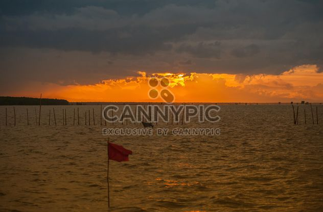 Cloudy sunset - Free image #271805