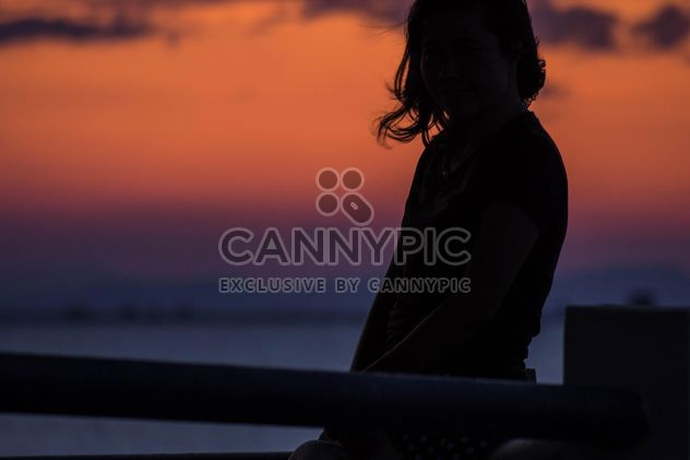 Silhouette at sunset - Free image #271865
