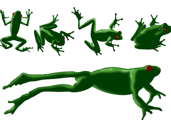Frog Vectors - vector gratuit #272425