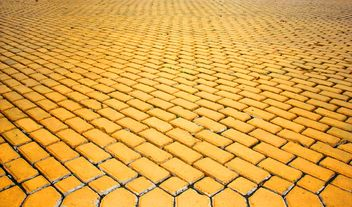 The yellow brick road. #goyellow - image #272615 gratis