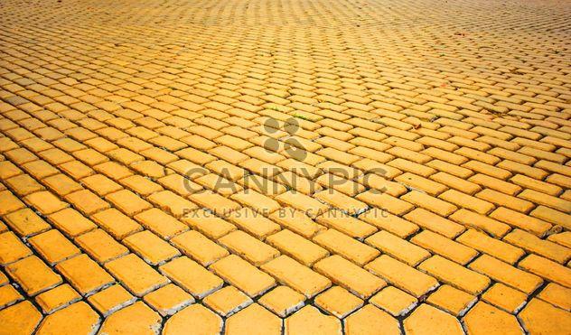 Die Gelbe Ziegelstein-Straße. #goyellow - Free image #272615