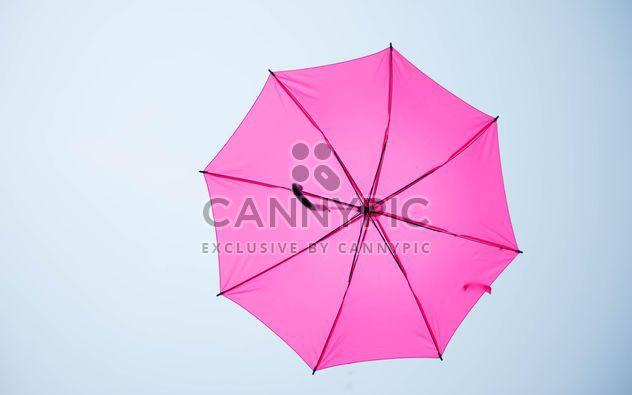 pink umbrella hanging - Free image #273095