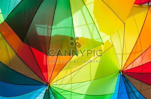 Parapluies de l'arc-en-ciel - image gratuit #273135