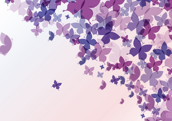 Abstract Butterfly Background - Free vector #273365
