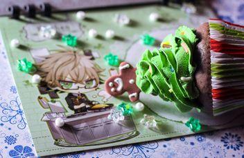 Christmas cupcake - бесплатный image #273855