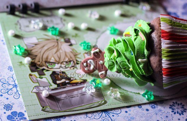 Christmas cupcake - Kostenloses image #273855
