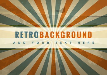 Retro background - vector #274205 gratis