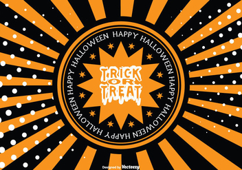 Halloween Background Illustration - Free vector #274645