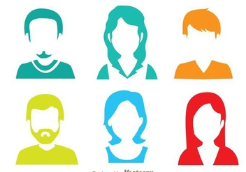 Colorful Default Avatar - Free vector #274735